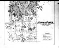 Chisago Lake - Below, Chisago County 1888